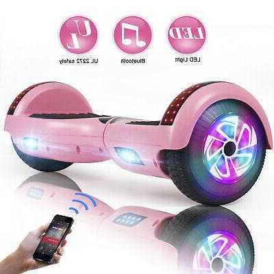 "6.5"" Bluetooth Hoverboard Self Balancing Wheel Girl Bag"
