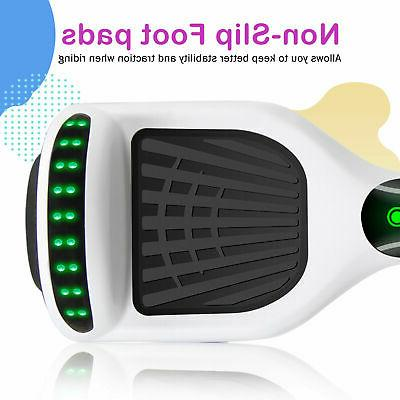 Bluetooth Self Balance Electric without Bag White+Gray