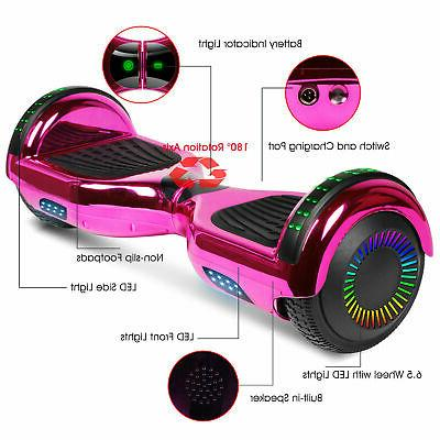 """6.5"""" Hoverboard Balance Electric Scooter LED UL"""