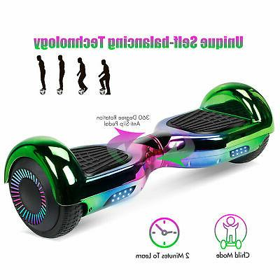 """6.5"""" Hoverboard Balance Electric LED UL"""
