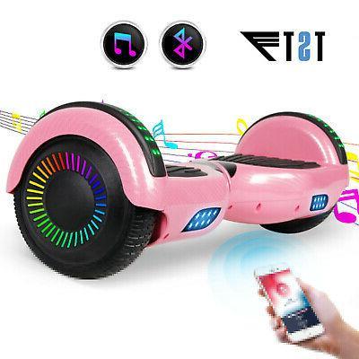 6.5'' Bluetooth Smart Balance Scooter no Bag Fiber