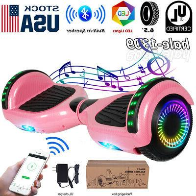 6 5 bluetooth hoverboard smart balance scooter
