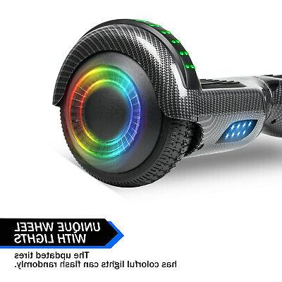 """6.5"""" Bluetooth Hoverboards Electric Self-Balancing Black Without"""