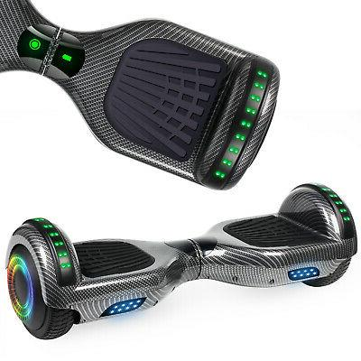 """6.5"""" Bluetooth Hoverboards Scooter Electric LED Without"""