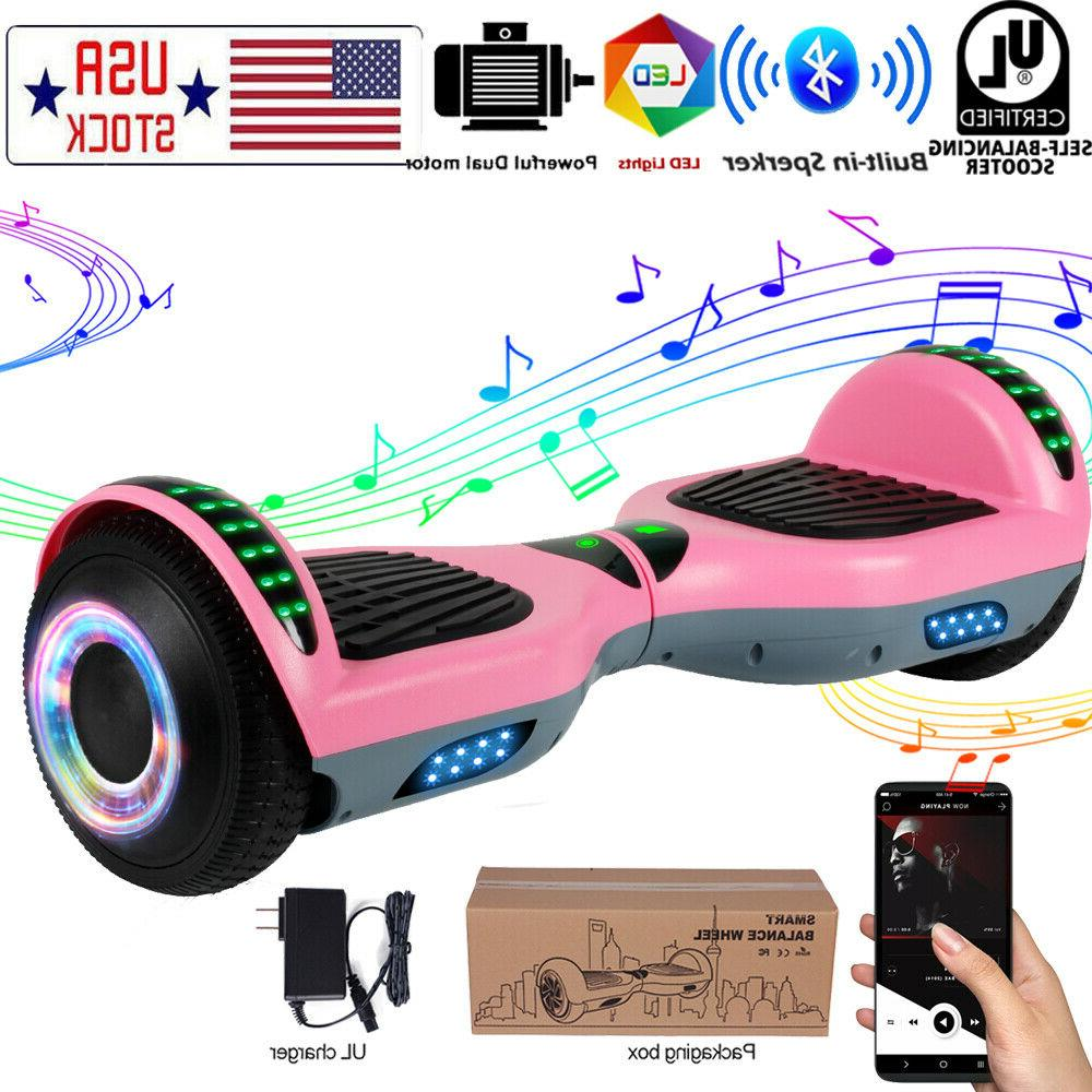 6 5 bluetooth hoverboards self balancing scooter
