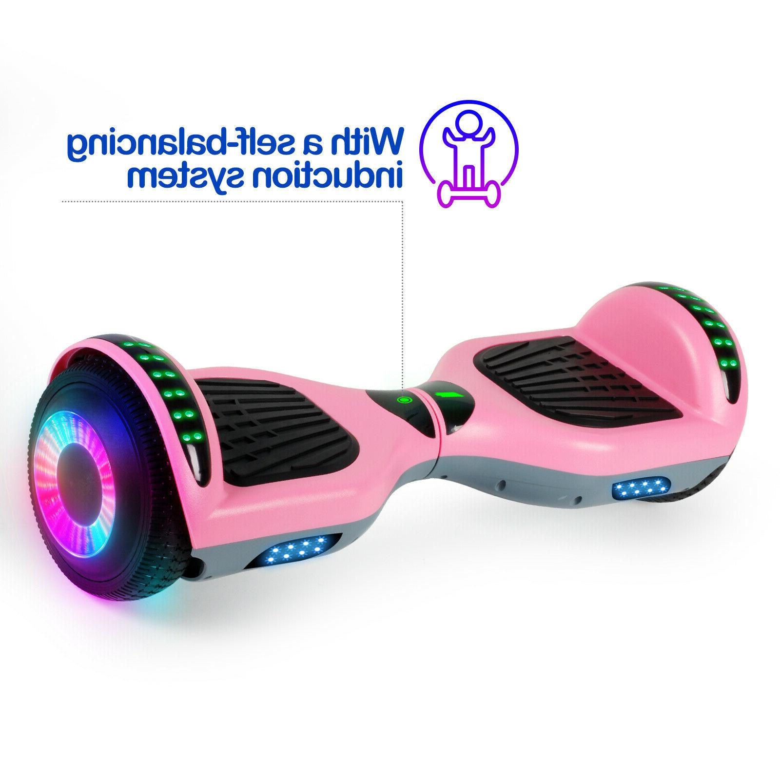 """6.5"""" Bluetooth Scooter Pink"""