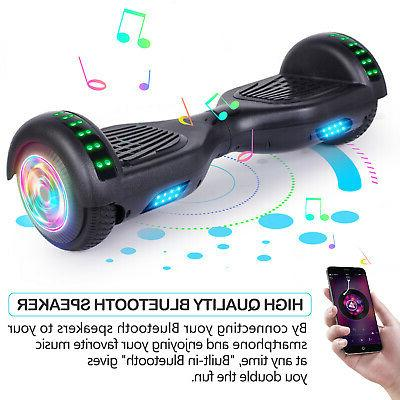 """6.5"""" Hoverboard LED Electric Scooter No BlackUSA"""