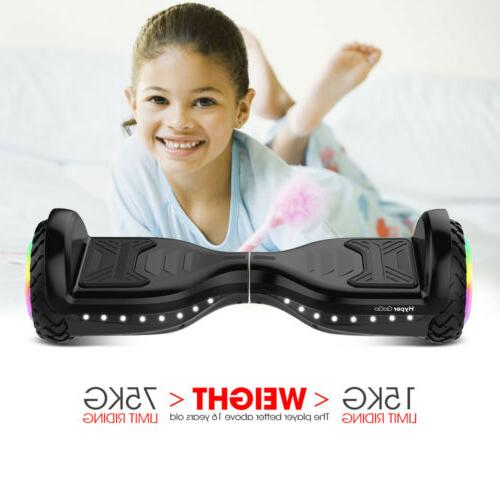 6.5'' Smart Flash 2-Wheel Self Bluetooth Scoote