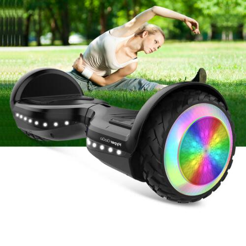 6.5'' Flash LED 2-Wheel Balancing Bluetooth Scoote US
