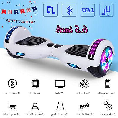 6 5 hoverboard bluetooth led self balancing