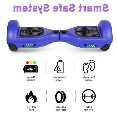 """6.5"""" Hoverboard LED Self Balancing Wheel no Bag"""
