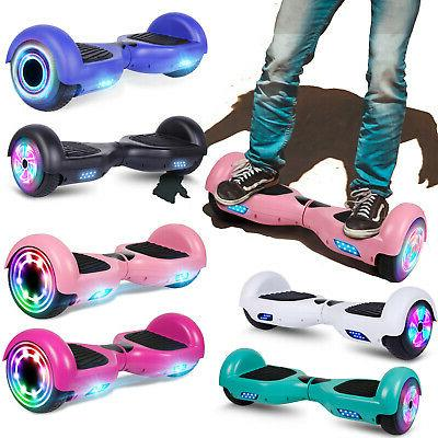 6 5 hoverboard led self balancing electric