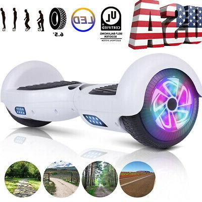 6 5 led classic white hoverboard self