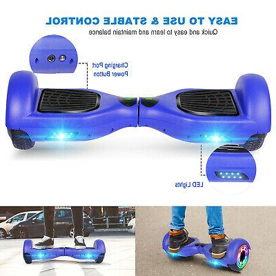 """6.5"""" LED Hoverboard Electric UL Scooter/Hoverkart"""