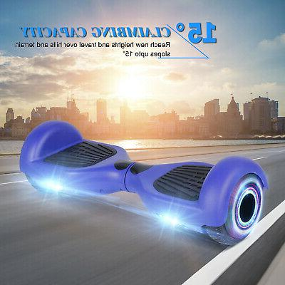 """6.5"""" LED Two Hoverboard Self Balance UL"""