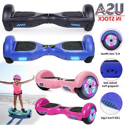 6 5 led two wheels hoverboard electric