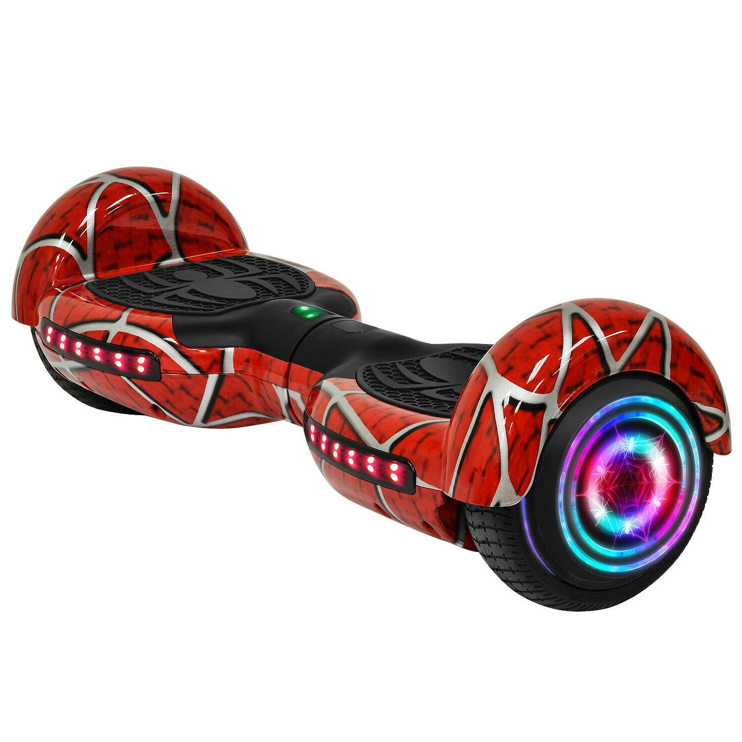 6 5 spider self balancing scooter rgb