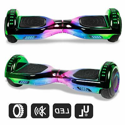 6.5'' Bluetooth Hoverboard Balancing Electric Scooter Kids Two-Wheel UL