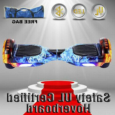 """6.5"""" Two-Wheel Hoverboard with UL"""