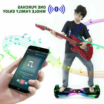 Bluetooth Smart Hoverboard Hover Board NHT Chrome Scooter