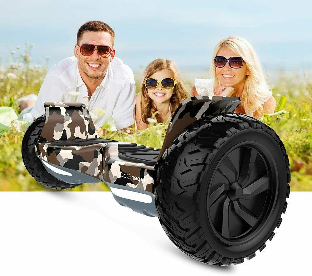 """Hyper gogo 8.5"""" Scooter Hoover with Certified Wheels"""