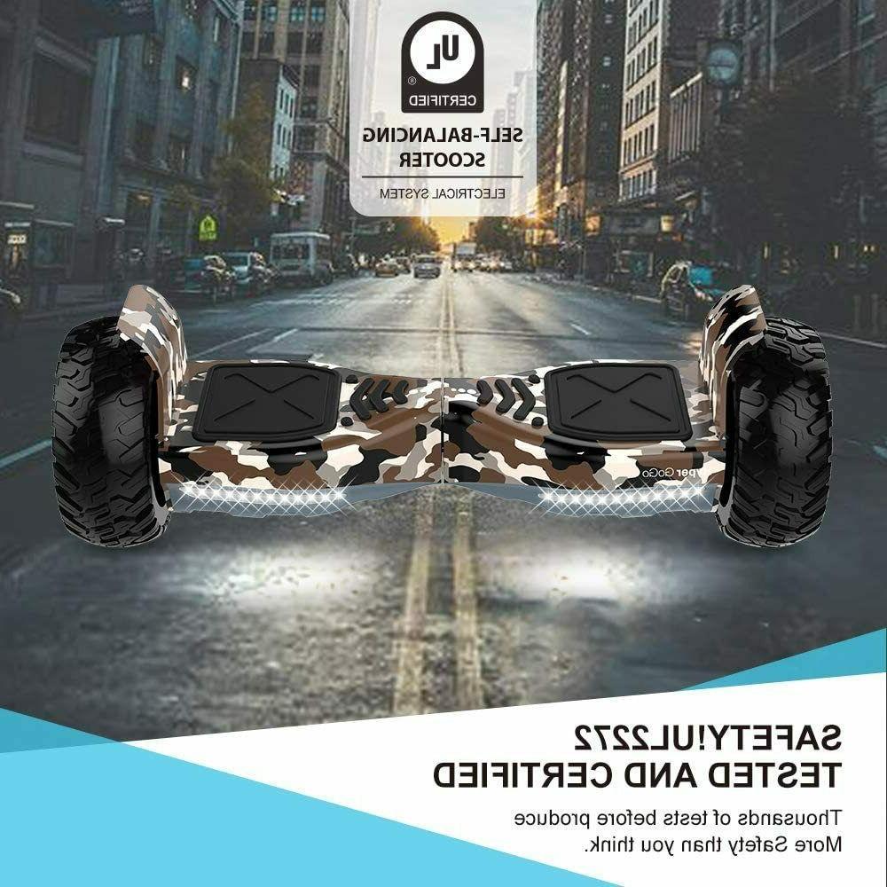 """Hyper 8.5"""" Hoover Board Certified Wheels LED"""