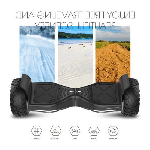 8.5'' Self 7.4mPH w/Bluetooth Speaker