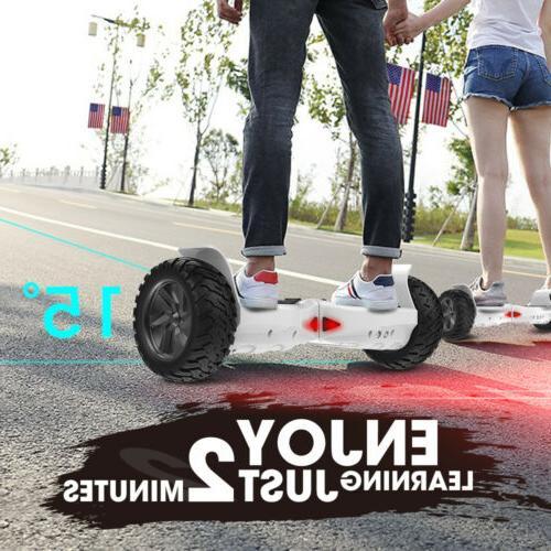 8.5'' Self Electric Scoote 7.4mPH