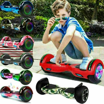 """Bluetooth Hover Board NHT 6.5"""" Chrome Self Adult"""