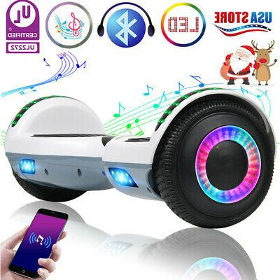 bluetooth hoverboard led self balance electric scooter