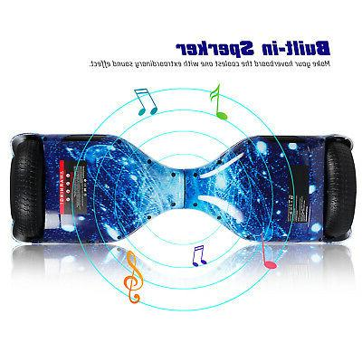 """UL2272 6.5"""" Wheel Hoverboard Self Scooter LED"""