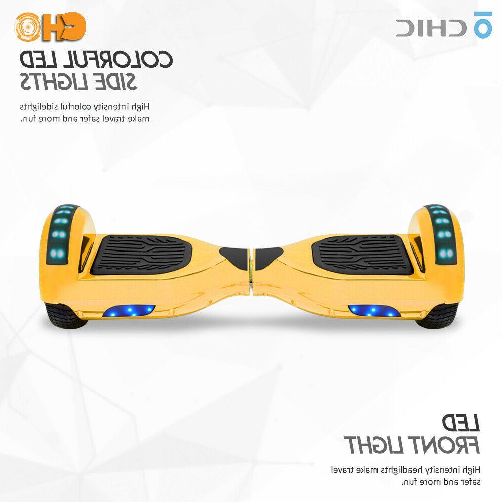 Chrome Series Hoverboard Smart Self Balancing