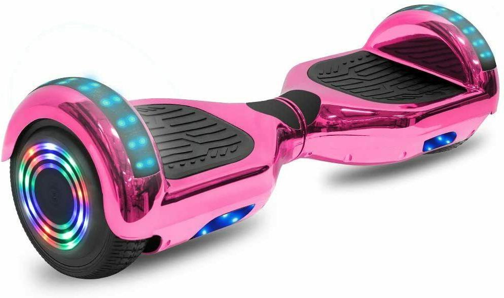 Chrome Smart Balancing Scooter