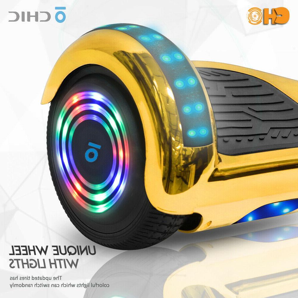 Chrome Series Smart Balancing Scooter