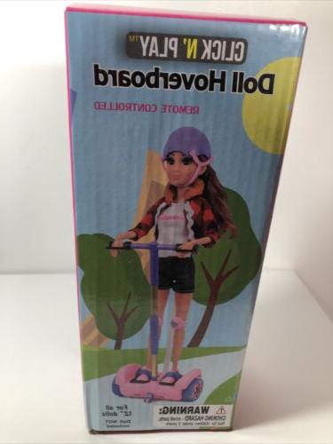 Click N' Toy Doll Hoverboard control Nwb Free