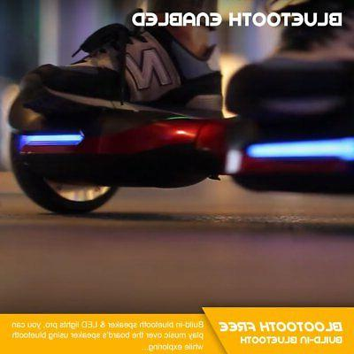Spadger G1 Auto-Balancing Wheel Speaker LED