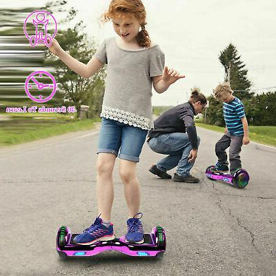 Hoverboard Chrome Self Balancing Scooter no