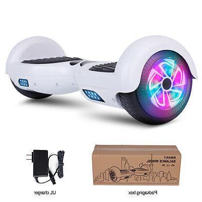 2 Wheel Hoverboard Balancing Certified LED Side