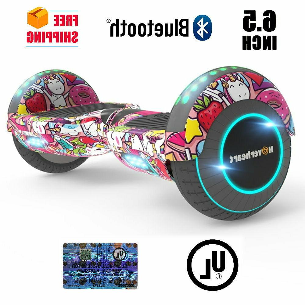 Hoverboard With Bluetooth And Lights Best Hoverboards For Ki