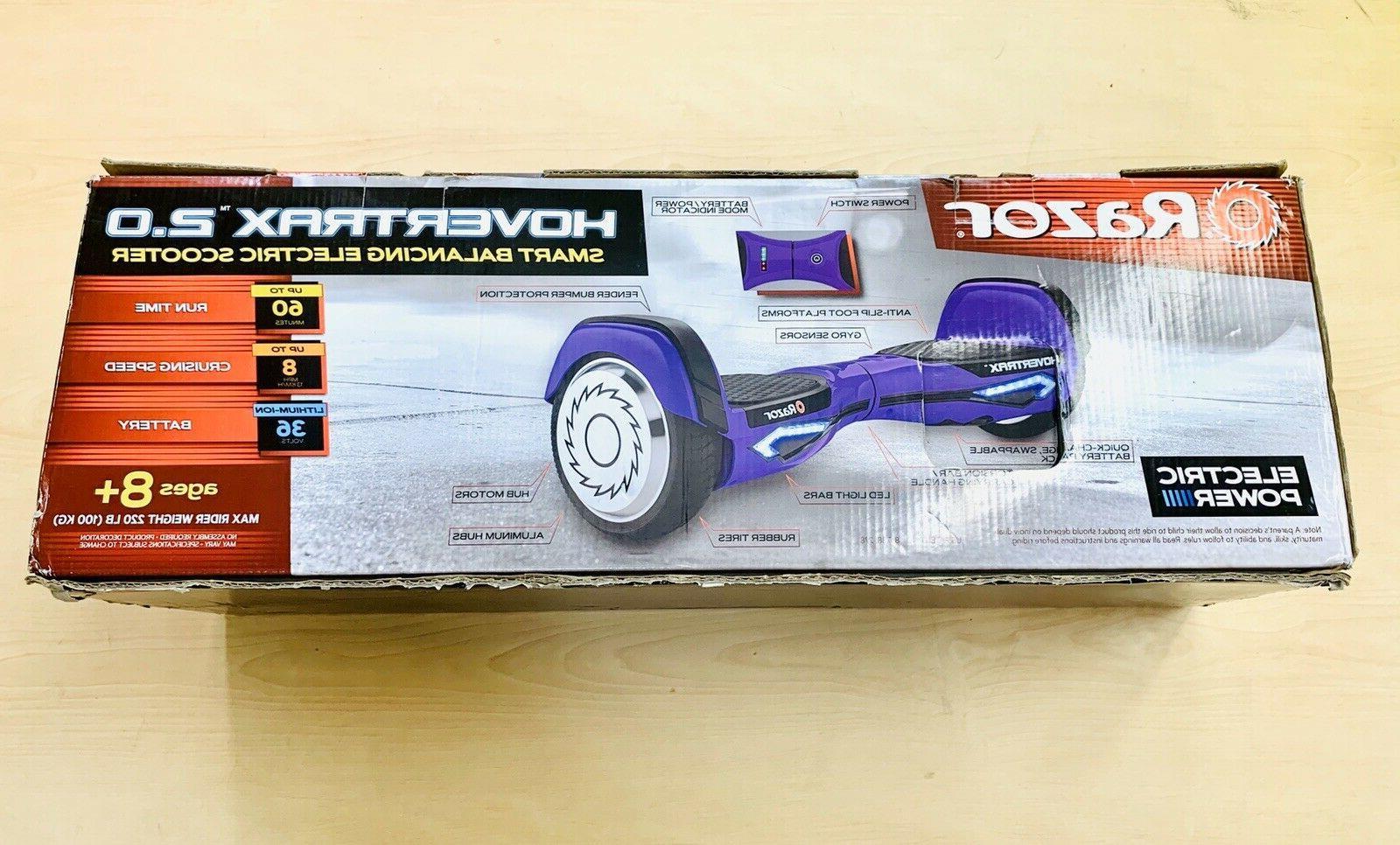 hovertrx 2 0 smart self balancing purple