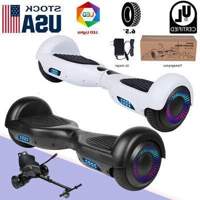 led two wheels hoverboard electric self balancing