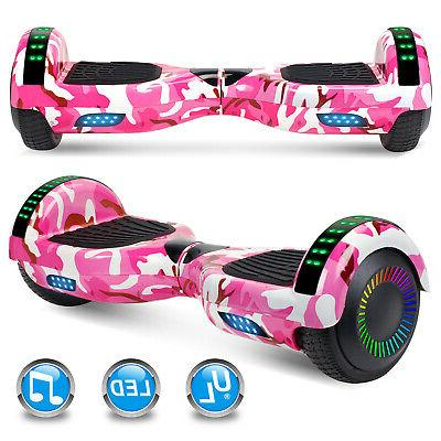 """6.5"""" Hoverboards Razor Scooter Electric LED Without Bag"""
