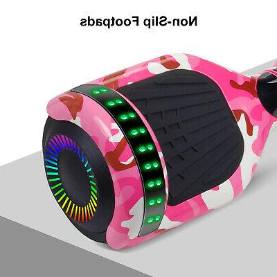 """6.5"""" Bluetooth Hoverboards Razor Scooter Self-Balancing Without"""