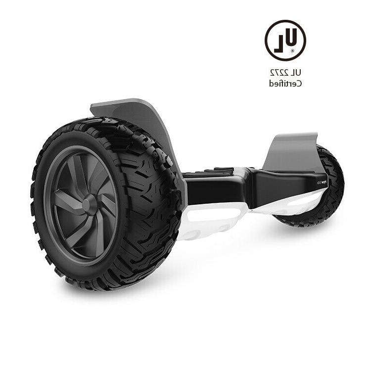 """HYPER Off Road,8.5""""Electric Self Balancing All Terrain Scooters,Carry"""