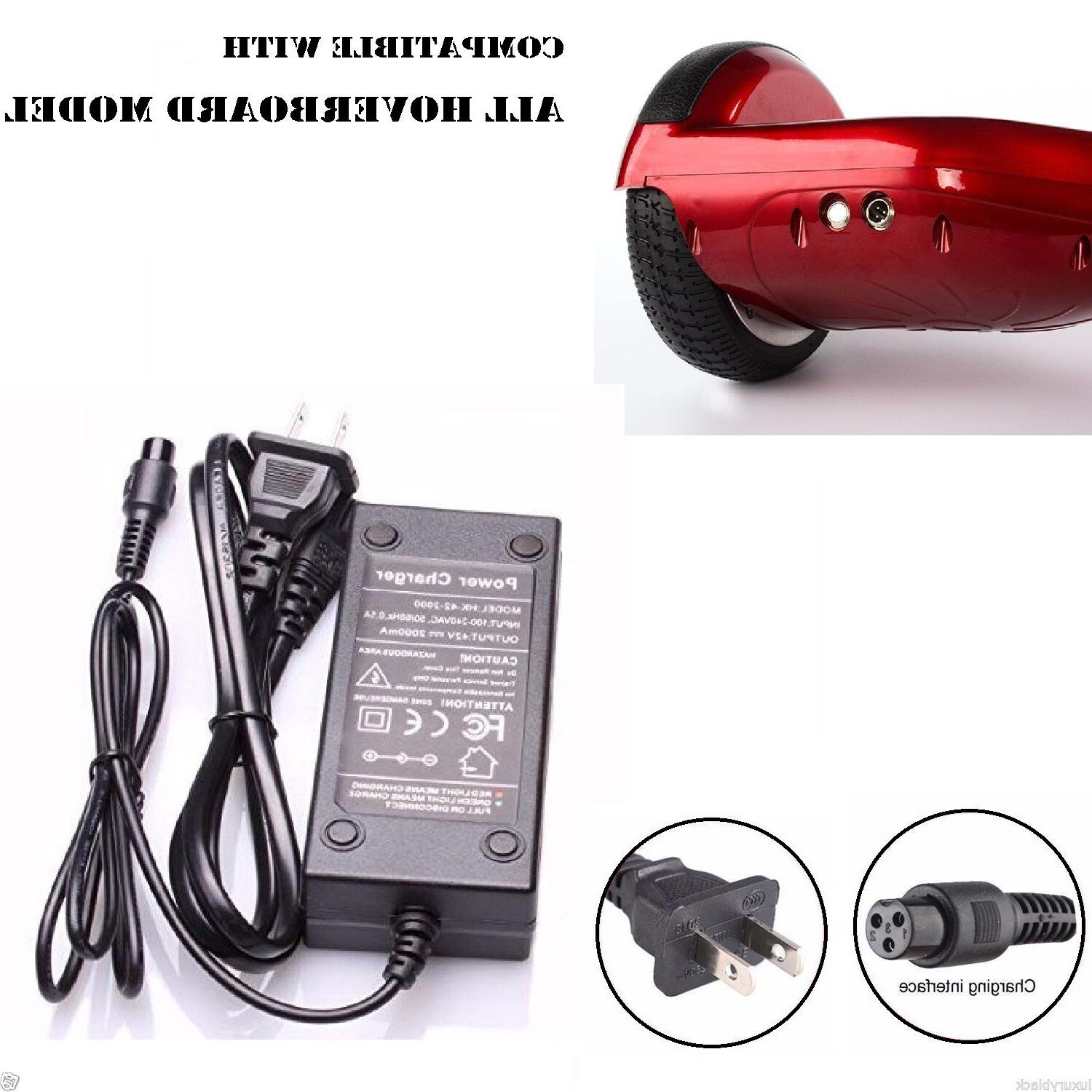 US Plug Approved Charger For Xiaomi/Swegway/Hoverboard Balan