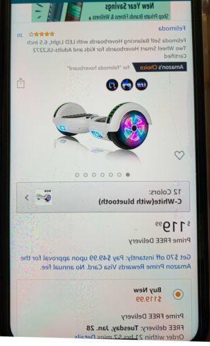 Felimoda with Light Bluetooth w/ BagBNWOT
