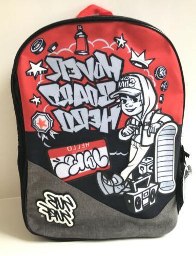 Hero Backpack Book Bag NWT