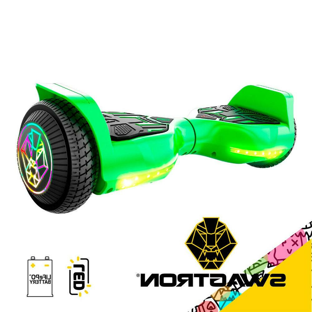 "Swagboard Twist T580 w/ Light-up 6.5"" LED Wheels For Ages 8+"