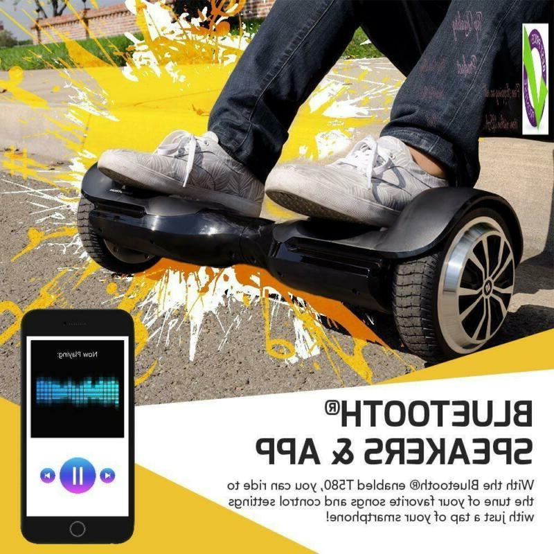 Swagtron Swagboard App-Enabled Self-Balancing