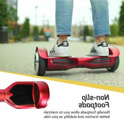 Swagtron Listed Hoverboard SelfBalancing Scooter Bluetooth
